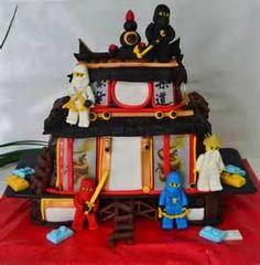 Ninjago Cake - I really love this one!