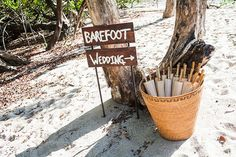 #sparklingeverafter   Keeping people cool in the afternoon sun!  A Rustic Beach Wedding