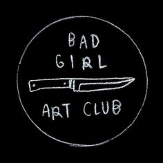 Bad Girl Art Club #mono #photography #black #blackandwhite #dark #shadows #badgirl #art #mood