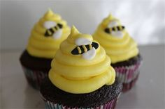 bumble bee cakes for 1st birthdays | Bumble Bee Cupcakes