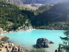 **Lago di Sorapiss (6 hr round trip hike) - Cortina d'Ampezzo, Italy