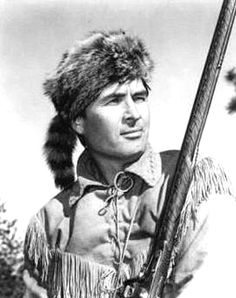 Davy Crockett AS PLAYED BY Fess Parker.