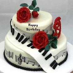 Stunning music cake