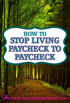 How to Stop Living Paycheck to Paycheck Are you living paycheck to paycheck and struggle to make ends meet every week? You get your paycheck, pay some bills, buy groceries and then the money is gone until the next payday. Then you do it all over again and again.  You know as well as I Read More