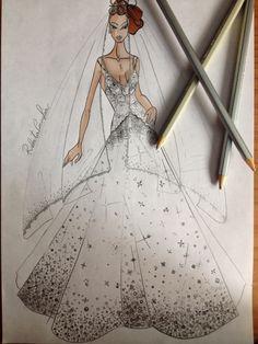 The bride glitter