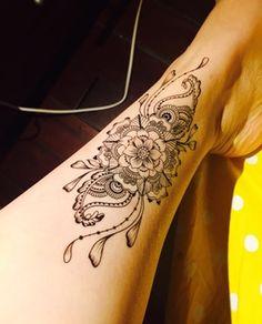 Mandala Tattoo ethnische Kunst Mandala Art große von prosciuttojojo