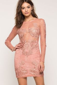 A'GACI | Caress Crochet Lace Dress | #Agaci