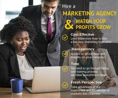 Hire a Marketing Agency & watch your profits grow!