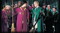 Quidditch: Griffindor vs Slytherin