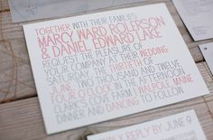 Farm Wedding with Charming Red Details: Marcy + Dan
