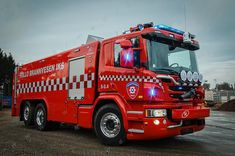 Pressure Pump, Fire Fighters, Fire Apparatus, Emergency Vehicles, Fire Engine, Fire Trucks, Hygge, Plane, Remote