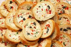 Baguette with cheese filling Baguette, Buffet, Appetizers, Cheese, Snacks, Cookies, Desserts, Food, Tapas Food
