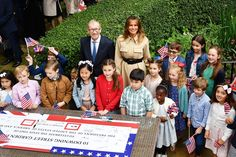 Trump Baby Blimp, Meeting with the Prime Minister & More Moments from President Trump's State Visit — Day 2 Trump Baby, Mr Trump, Donald Trump, Camilla Duchess Of Cornwall, Duchess Of Cambridge, Prince Charles And Camilla, Prince William, White Evening Gowns, First Lady Melania Trump