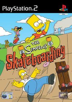 The Simpsons Skateboarding (PS2) - http://www.cheaptohome.co.uk/the-simpsons-skateboarding-ps2/