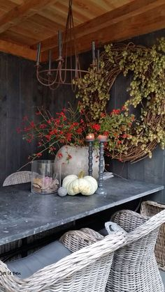 All Details You Need to Know About Home Decoration - Modern Christmas Centerpieces, Centerpiece Decorations, Autumn Decorations, Flower Decoration, Love Garden, Dream Garden, Rustic Christmas, Christmas Wreaths, Seasonal Decor