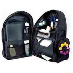 Okkatots Travel Baby Depot Backpack Bag - Black (00182476000163) The ultimate Travel Diaper Bag. Whether you're driving to grandma's house for the weekend or flying across the ocean, Okkatots' premium Travel Baby Depot Bag fits all your travel needs. Its roomy design carries absolutely everything for little ones but still stays conveniently organized. To cope with the unexpected delays and doldrums of traveling, this unique travel bag was created with you in mind. Diaper station with soft…