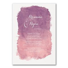 When your marriage is a work of art, this watercolor vow renewal invitation is perfect for inviting guests to celebrate with you. Choose the color of the design. Vow Renewal Invitations, Discount Wedding Invitations, Wedding Anniversary Invitations, Wedding Vows, Wedding Programs, Watercolor Wedding Invitations, Wedding Invitation Design, Bridal Shower Invitations, Invites