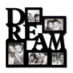"Adeco ""Dream"" 5-Opening Collage Picture Frame"