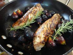 Pork Tenderloin with Roasted Figs on Mom's Kitchen Handbook