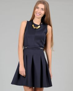 Neoprene Dress Spaccio