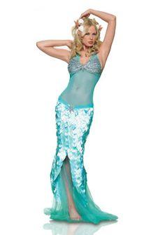 ideas para disfraz de sirena - Disfraz casero  patrones
