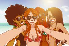 Penny and the Squad (The Proud Family) Black Girl Art, Black Women Art, Art Girl, Black Cartoon Characters, Cartoon Art, Movie Characters, The Proud Family, Lotus Art, Black Art Pictures