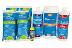 Spring Swimming Pool Start-Up Opening Chemical Kit For Pools Up To 30,000 Gallon Find out more about the great product at the image link.
