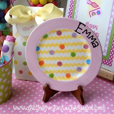 A Little Loveliness: Pottery P-art-y Finds & Favor-ites