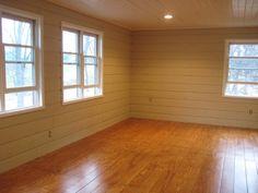 Cheap flooring DIY idea