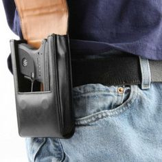 Sneaky Pete Holster - slang for ' fanny pack '