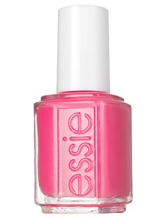 My new addiction: nail polish. // Best Beauty Buys Bright Nail Polish: Essie Off the Shoulder Pink Nail Colors, Essie Nail Colors, Essie Nail Polish, Nail Polish Colors, Pink Polish, Nail Polishes, Bright Nail Polish, Nail Lacquer, Perfume