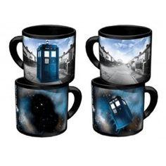 Doctor Who Tardis Mug céramique Thermoréactif