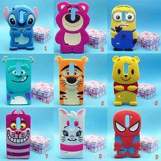 Cute Disney Cartoon Soft Silicone Case Cover For LG G3 Stylus / D690N / D690
