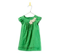 Image 1 of DRESS WITH EMBROIDERED FLOWER from Zara