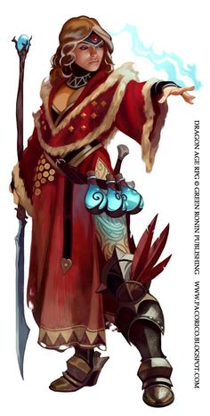 Dragon Age mage again by Mancomb-Seepwood.deviantart.com on @deviantART