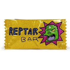 Danielle Nicole Nickelodeon Rugrats Reptar Bar Clutch Bag for Women ($48) ❤ liked on Polyvore featuring bags, handbags, clutches, pouch handbags, yellow clutches, pouch purse, coin purses and yellow handbags