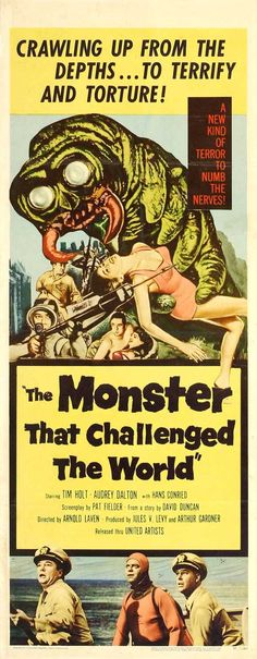 Monster That Challenged the World, The (1957)