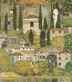 Church at Cassone sul Garda Artist: Gustav Klimt
