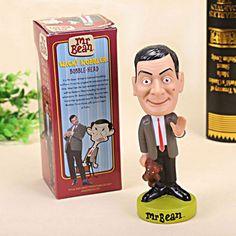 Mr.Bean Figure Toy Doll Funko Wacky Wobbler Bobble Head 7 Movie TV Cartoon Rowan #Modern
