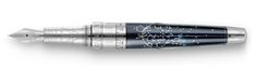 Caran d'Ache Caelograph Alpha 30 Platinum Coated Fountain Pen - Caran d'Ache