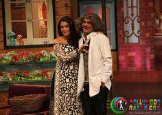 Ranbir, Aishwarya And Anushka On The Sets Of Kapil Sharma Show  #Bollywoodnazar #KapilSharma #AnushkaSharma #RanbirKapoor #AishwaryaRaiBachcha #SunilGrover Kapil Sharma, Anushka Sharma, Team Wallpaper, Aishwarya Rai Bachchan, Ranbir Kapoor, On Set, Comedians, Bollywood, Glamour