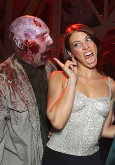 "Lauren Cohan promocionando ""The Walking Dead"", 2012"