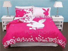 Interior Design: Playboy Bunny Room Decor With Shower Curtains (2 ...