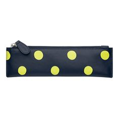 Button Spot Leather Pencil Case | Leather Bags & Accessories | CathKidston