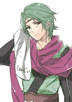Fire Emblem: if/Fates - Kaze (./////.)