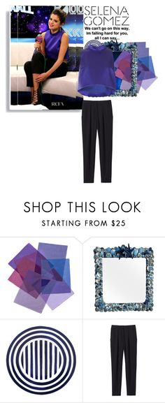 """""""Selena Gomez"""" by fatimahkk ❤ liked on Polyvore featuring Topshop, Disney, WALL, Kate Spade, Rebecca Taylor, love, selenagomez, selena, topshop and gomez"""