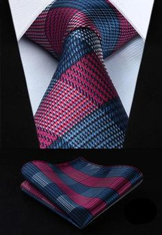 Description: This specialty collection of men's fashion silk neckties and handkerchief brings together, the classic and modern designs into a well-designed, cool and sophisticated matching pieces, and an overall polished finish. And, whether you are preparing to attend a church meeting, a wedding, a choral choir event, a seminar, a speaking engagement, a business meeting, a family event, an engagement party, or a special family gathering, or you are ready to go on a vacation, to travel to a new Latest Mens Fashion, Men Fashion, Style Fashion, Fashion Boots, Tie Styles, Tie And Pocket Square, Pocket Squares, Tie Set, Men Style Tips