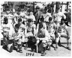 In honor of the Royals', here's a picture of KCPD's 1948 baseball team, provided by @StephanieMcBrayer! Her dad is Van Sowers.