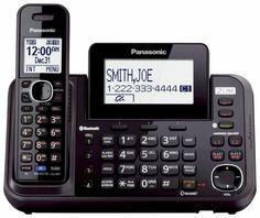 PANASONIC KX-TG9541B 2-Line Cordless Link to Cell, USB, 2-line Answering System  #Panasonic