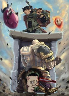 Have no fear - Braum is here! :: League of Legends :: Braum, F*ck Teemo